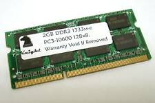 2GB DDR3 1333 MHZ PC3 10600 SODIMM LAPTOP MEMORY - LOT OF 10 PCS