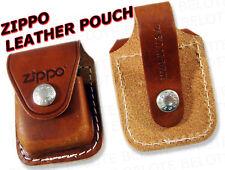 Zippo Leather Pouch w/ Belt Loop BRN  LPLB ACCESSORIES