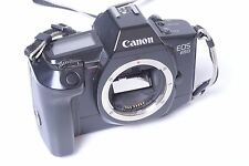 CANON EOS 650 SLR 35MM CAMERA IN NICE CONDITION AND WORKS 100%. ORIGINAL STRAP.