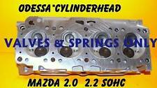 NEW MAZDA 2.0 2.2 SOHC B2000 B2200 626 MECHANICAL CYLINDER HEAD VALVE&SPR ONLY