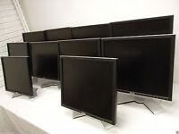 "LOT-10 Dell 19"" UltraSharp LCD Monitor w/4-Port USB Hub VGA DVI 1908FP 1907FP"
