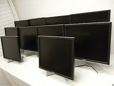 "LOT-10 Dell UltraSharp 19"" LCD Monitor 4-Port USB Hub 1907FP VGA DVI DC323 CJ319"