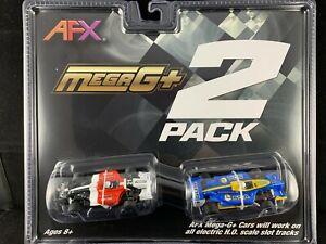 22017 AFX MEGA G PLUS F1 TWIN PACK TOMY AURORA