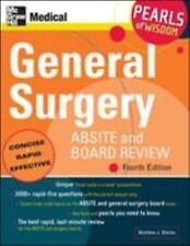 General Surgery ABSITE and Board Review: Pearls of Wisdom, Fourth Edition , Blec