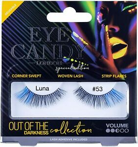 Eye Candy False Eyelashes Out of The Darkness Style Luna