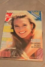 TELE 7 JOURS N°1401 AVRIL 1987 - SANTA BARBARA MARIE LAURE AUGRY SARDOU