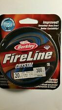 BERKLEY  FIRELINE  20lb 125 YARDS FLAME GREEN COLOR