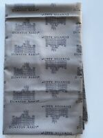 Downton Abbey Gray Cotton Fabric By The Yard