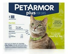 Pet Armor Plus For Cats & Kittens Over 1.5 lb Flea and Tick Squeeze-On 3 COUNT