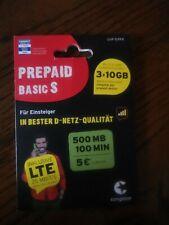 015 155 222 057 Congstar Prepaid Basic s VLP Rufnummer