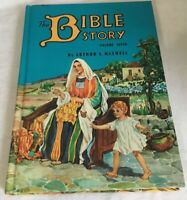 The Bible Story Book by Arthur S. Maxwell Volume 7 Seven Hardcover 1956 Vintage