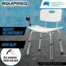 Equipmed AGCSWCEMQA50N Adjustable Shower Chair