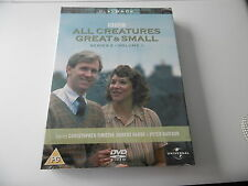 *NEW SEALED* ALL CREATURES GREAT & SMALL BBC TV SERIES 2 VOLUME 1 DVD PAL PG