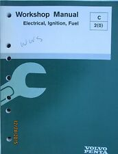 Volvo Penta Marine 43G,50G,57,74,82 EFI Diagnostic Workshop Service Manual 1999