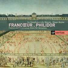 Francoeur Philidor Festive and Ceremonial Music for Versailles - CD 5gln The