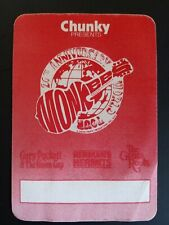 The Monkees 20th Anniversary World Tour Backstage Pass Herman's Hermits Puckett