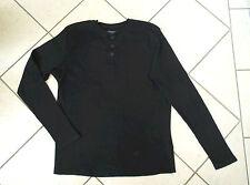 H&M Langarm-Shirt Gr. M schwarz 100% Baumwolle wie NEU