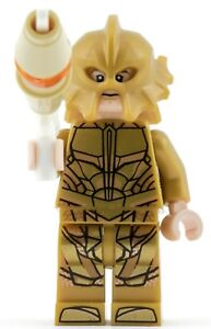 GENUINE Lego Super Heroes ATLANTEAN GUARD - SCARED FACE Minifigure split 76085
