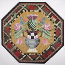 MacKenzie Childs Rug 5 Foot Torquay Vase Octagon