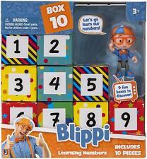 Blippi-blippi surprise Boîtes Learning Numbers-Neuf