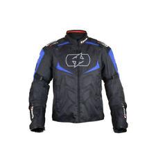 Blousons bleus textiles tous pour motocyclette
