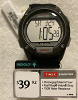 Timex Men's Expedition Chronograph & Indiglo Digital Watch, PERFECT BRAND NEW!!!