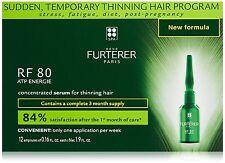 RENE FURTERER RF80 HAIR LOSS TREATMENT 12 VIALS 5ml SUPER FRESH!