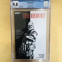 The Recount #1 Scarface Cover Homage Scout Comics CGC 9.8 1:15 Incentive