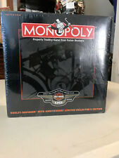 NEW UNOPENED 1998 HARLEY DAVIDSON MONOPOLY GAME 95TH ANNIVERSARY LIMITED EDITION
