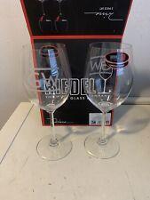 Riedel Wine Series Cabernet Merlot Crystal Wine Glasses - Set of 2 Etched GW