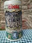 Coors Brewing Company Beer Stein, 1990 Edition #174964 of 1935 Print Ad.