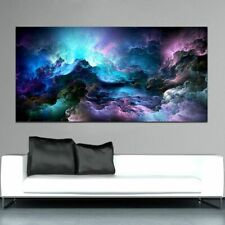 Canvas Painting Large Size Wall Abstract Art Printed Cloud Picture Home Decor