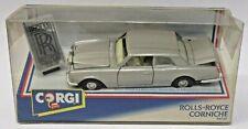 Corgi 94030 Rolls-Royce Corniche silver diecast Mint in Box