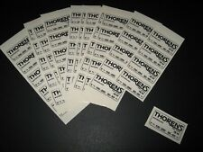 One New Thorens TD124 Power Information Sticker Label by Mirko