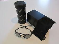New Oakley Madman Sunglasses Pewter Black Iridium Polarized OO6019-02