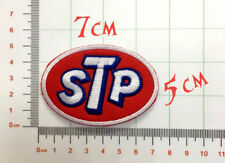 Quality Iron/Sew on STP oil biker logo motoroil applique patch patches