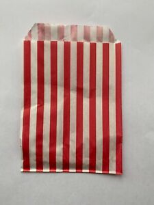 Candy Stripe Paper Bags Gift Shop Party Buffet Wedding Pick&Mix Sweet Treat