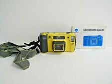 Minolta Weathermatic 35DL Dual AF 35mm Underwater Compact w/Manual