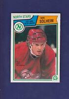 Ken Solheim RC 1983-84 O-PEE-CHEE Hockey #131 (NM+) Minnesota North Stars