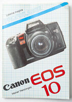 Handbuch Laterna Magica Canon EOS 10 EOS10 Heiner Henninges Sachbuch