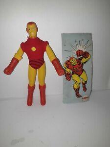 "Vintage 1974 Mego Iron Man 8"" Action Figure"