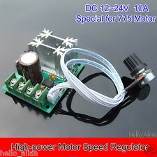 DC 12V 24V 10A High-power DC Motor Speed Regulator Controller Switch Steuerungen