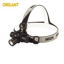 CRELANT CH10 Headlamp Headlight Outdoor Sports 18650 Cool White Stepless Dimming