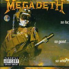 Megadeth - So Far So Good So What [New CD] Explicit, Bonus Tracks, Rmst