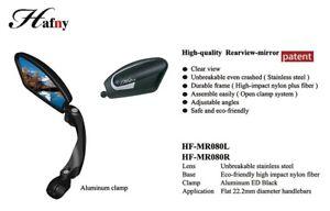 Hafny HF-MR080 Fully Adjustable Magic Bicycle Rear View Mirror - Left