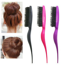 Pro Salon Hair Brushes Hairdressing Comb Slim Line Teasing Combing Styling Tools