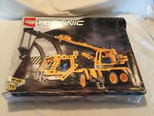 LEGO #8431 TECHNIC Pneumatic Crane Truck Open Box SEALED BAGS Set RARE
