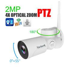 Rsrteng 2MP PTZ 4X Optical Zoom Security IP Camera P2P WIFI Mic IR H.264 Outdoor