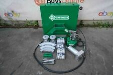 Greenlee 777 1 14 To 4 Inch Rigid Pipe Bender With Electric Pump Works Great