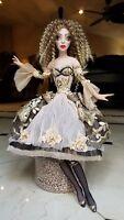 "Art Boudoir Doll in fashion  silk dress Sculpture home  interior design 20"""
